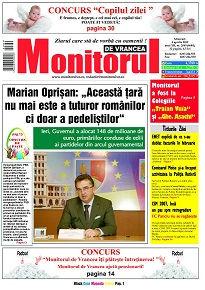 Ziarul Monitorul de Vrancea - Anunturi de mica publicitate